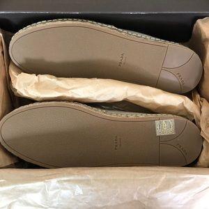 Prada Shoes - Prada Ivory Espadrilles